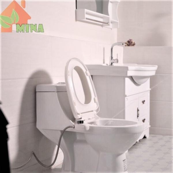 Vòi xịt rửa vệ sinh thông minh MINA gắn bệt